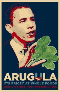 Obama-arugula