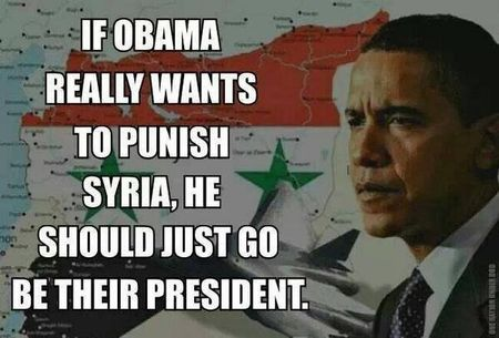 Punish syria