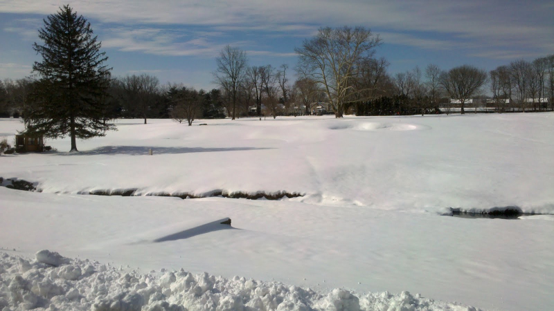 Golf snow