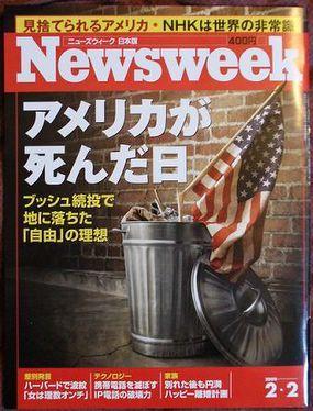 Newsweekflagtrash
